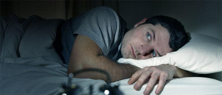 Мужчина не спит
