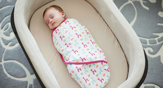 Запеленутый младенец